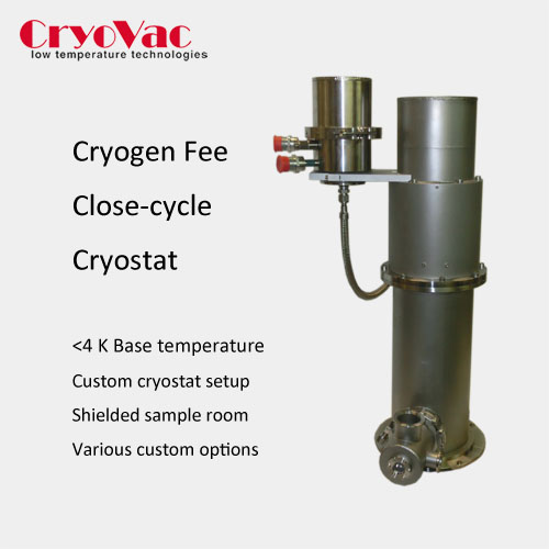 Cryogen free close cycle Cryostat